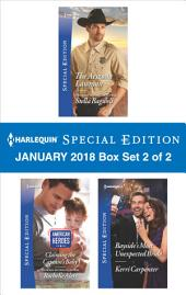 Harlequin Special Edition January 2018 Box Set 1 of 2: The Arizona Lawman\Claiming the Captain's Baby\Bayside's Most Unexpected Bride