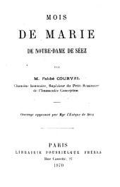 Mois de Marie de Notre-Dame de Séez