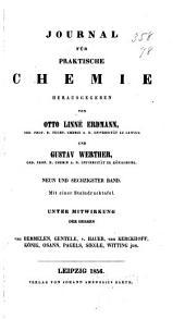 Journal für praktische Chemie: Band 69