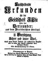 Entscheidende Urkunden für die Gesellschaft Jesu wider ihre Verleumder: aus dem Italiänischen übersetzt. 3