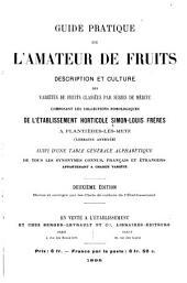 Guide pratique de l'amateur de fruits