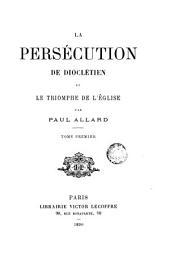 La persecution de Diocletien, 1