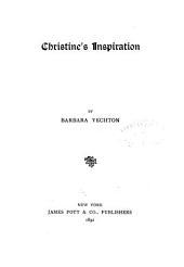 Christine's Inspiration