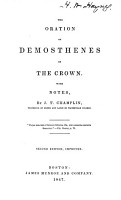 The oration on the crown PDF