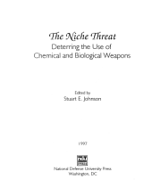 The Niche Threat: Deterring the Use of Chemical and Biological Weapons