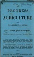 The progress of agriculture  The agricultural sect  of Philps  History of progress in Great Britain   PDF