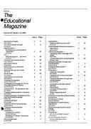 The Educational Magazine