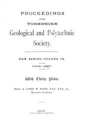 Proceedings of the Yorkshire Geological Society: Volume 9