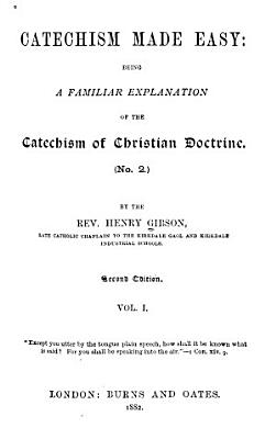Catechism Made Easy PDF