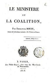 Le ministère et la coalition: Volume6