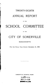 Annual Report: Volumes 28-29
