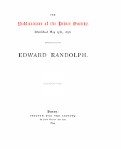 EDWARD RANDOLPH