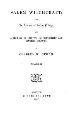 Salem Witchcraft PDF