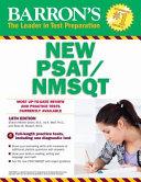 Barron s NEW PSAT NMSQT Book