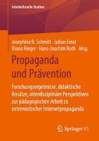 Propaganda und Pr  vention PDF