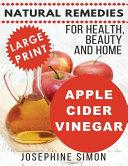 Apple Cider Vinegar - Large Print Edition