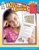 Bible Story Puzzle 'n' Learn!, Grades 3 - 4