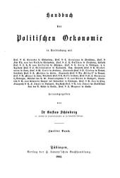 Handbuch der politischen oekonomie ...