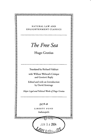 The Free Sea PDF