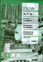 FAO Yearbook of Forest Products, 1998