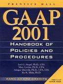 GAAP Handbook of Policies and Procedures 2001 PDF
