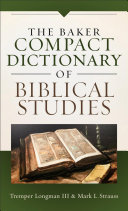 The Baker Compact Dictionary of Biblical Studies PDF