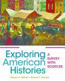 Exploring American Histories  Volume 2