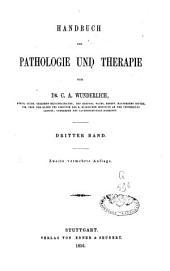 Handbuch der Pathologie und Therapie: Band 4