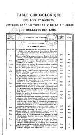 Bulletin des lois. Partie principale