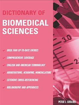 Dictionary of Biomedical Science PDF