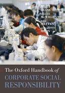 The Oxford Handbook of Corporate Social Responsibility PDF