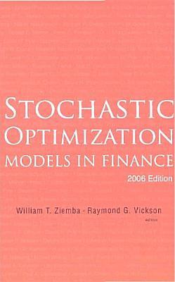 Stochastic Optimization Models in Finance PDF