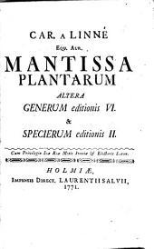 Mantissa plantarum altera