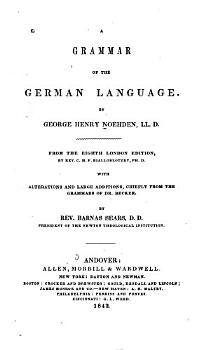A Grammar of the German Language PDF