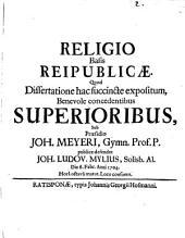 Religio basis reipublicae
