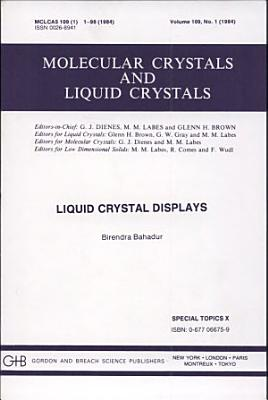 Liquid Crystal Displays PDF