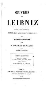 Œuvres de Leibniz: Volume2
