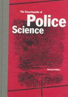 The Encyclopedia of Police Science PDF