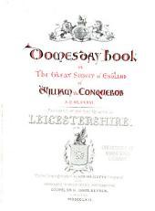 Domesday Book: Volume 16