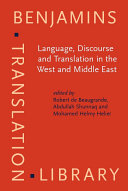 Language, Discourse, and Translation in the West and Middle East