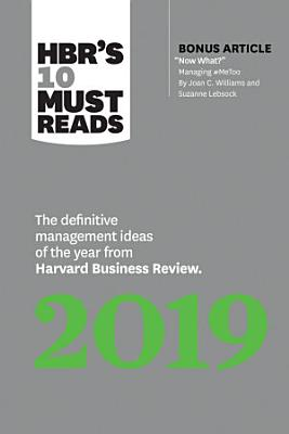 HBR s 10 Must Reads 2019