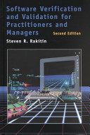 Software Verification and Validation for Practitioners and Managers