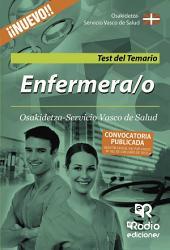 Enfermera/o de Osakidetza-Servicio Vasco de Salud. Test del Temario