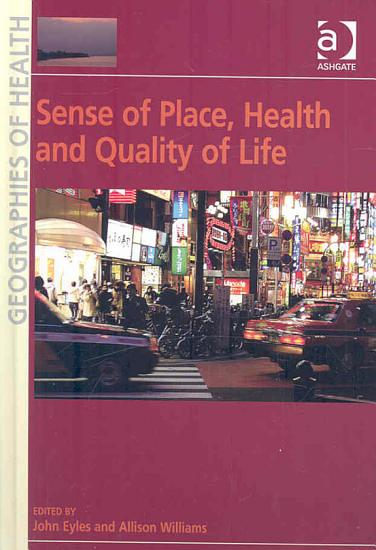 Sense of Place  Health and Quality of Life PDF