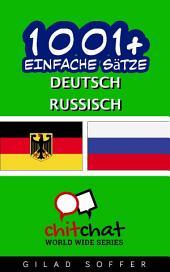 1001+ Einfache Sätze Deutsch - Russisch