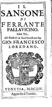 Pallavicini Il Sansone: libri tre