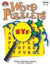 Word Puzzlers - Grades 2-3 (ENHANCED eBook)