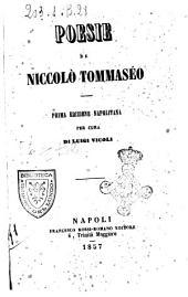 Poesie di Niccolo Tommaseo