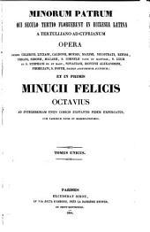 Patrologiae cursus completus ...: Series latina, Volume 3
