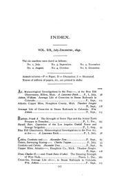 Journal of the Association of Engineering Societies: Volume 19